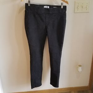 Sonoma Black Pull On Jeggings